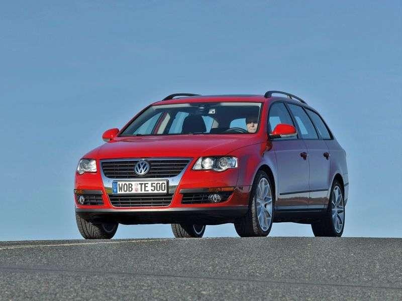 Volkswagen Passat B6universal 5 dv. 1.8 TSI MT (2005–2010)