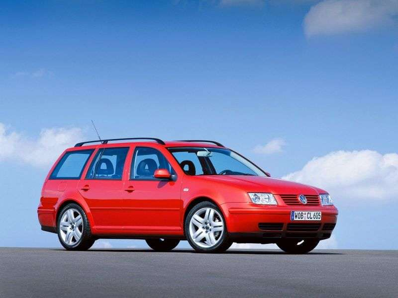 Volkswagen Jetta 4 generation wagon 1.9 TDI AT (2000–2005)
