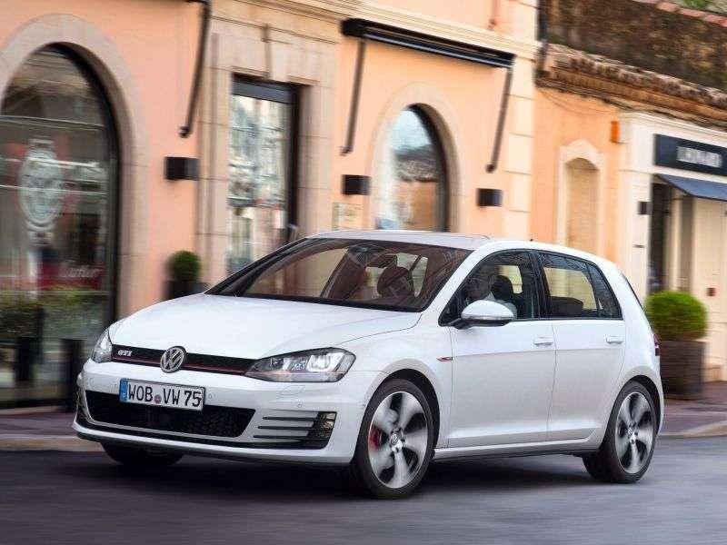 Volkswagen Golf 7 generation GTI hatchback 5 dv. 2.0 TSI BlueMotion DSG Basic (2013 – current century)