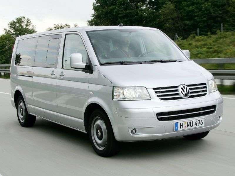 Volkswagen Multivan T5Minibus 2.5 TDI MT 4Motion (2004–2009)