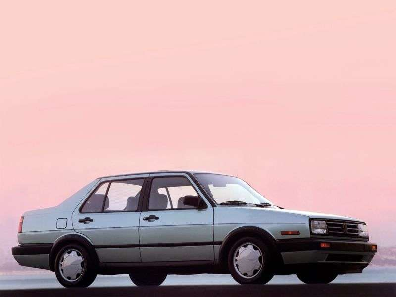 Volkswagen Jetta 2 generation [restyling] 4 door sedan. 1.3 MT (1987–1992)