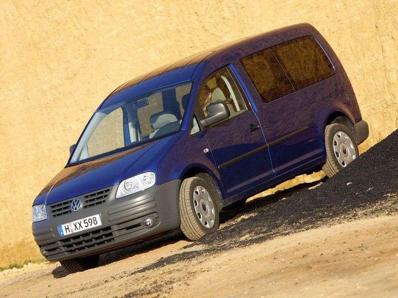 Volkswagen Caddy 3rd generation Maxi minivan 4 dv. 1.9 EcoFuel MT (2007–2010)