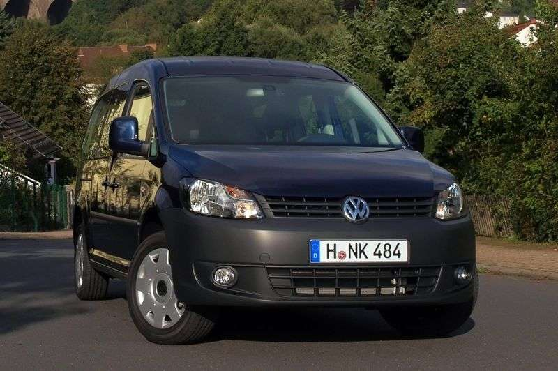 Volkswagen Caddy 3rd generation [restyling] Kombi 4 door minivan 2.0 TDI DSG 4Motion L1 Basic (5 seats) (2011 – present)