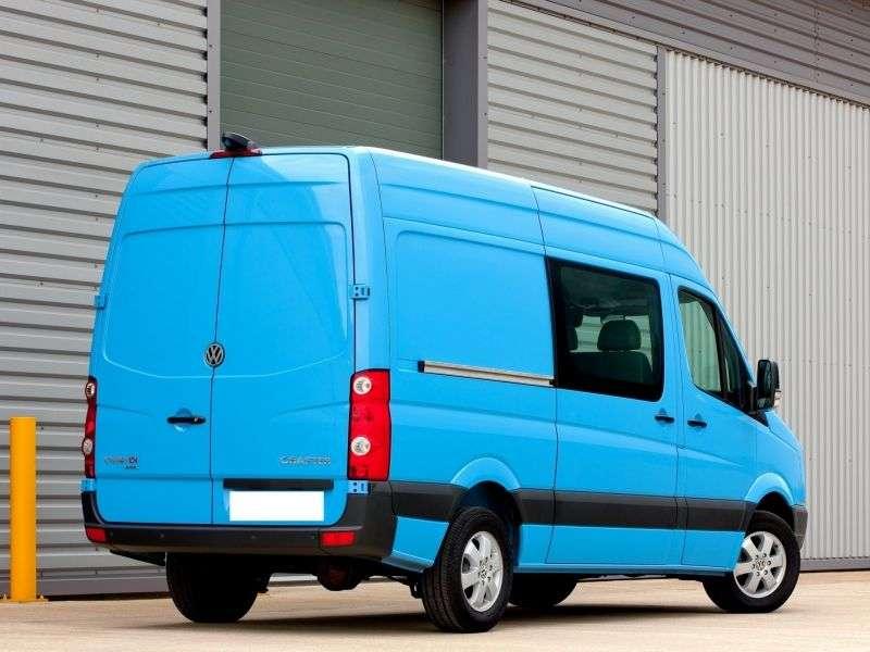 Volkswagen Crafter 1st generation Combi minivan 4 dv. 2.5 TDI Shiftmatic L2H1 30mwb (2006–2011)