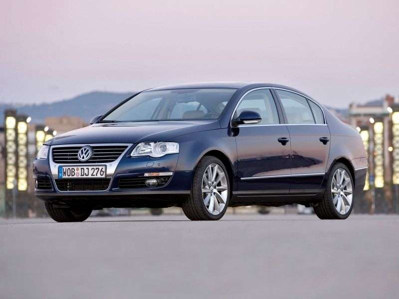 Volkswagen Passat B6sedan 4 bit. 1.8 TSI AT (2005–2010)