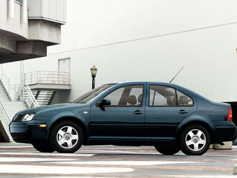 Volkswagen Jetta 4 generation sedan 2.3 V5 MT (1999–2005)