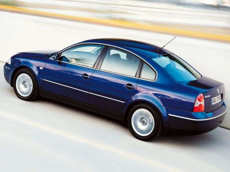 Volkswagen Passat B5.5 [restyling] sedan 2.0 4Motion MT (2000–2005)