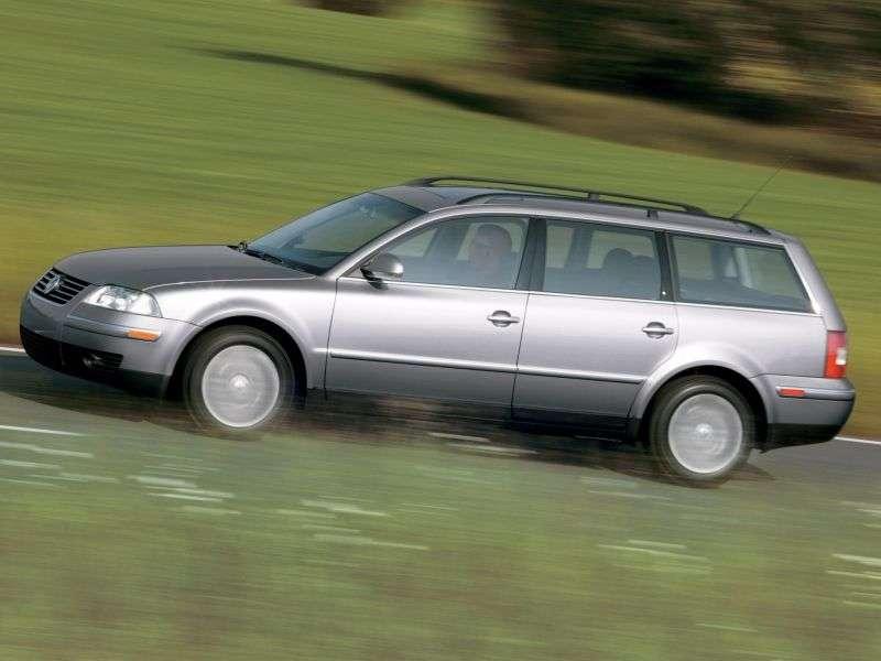 Volkswagen Passat B5.5 [restyling] station wagon 2.0 MT (2000–2005)