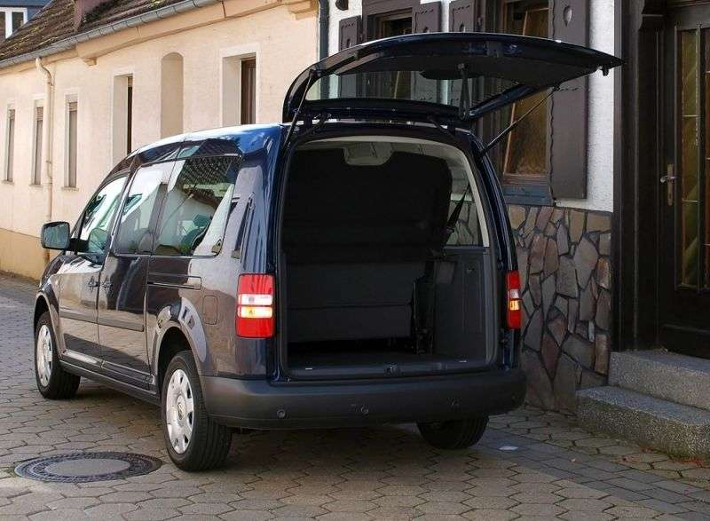 Volkswagen Caddy 3rd generation [restyling] Kombi 4 door minivan 2.0 TDI MT 4Motion L1 Basic (5 seats) (2011 – present)