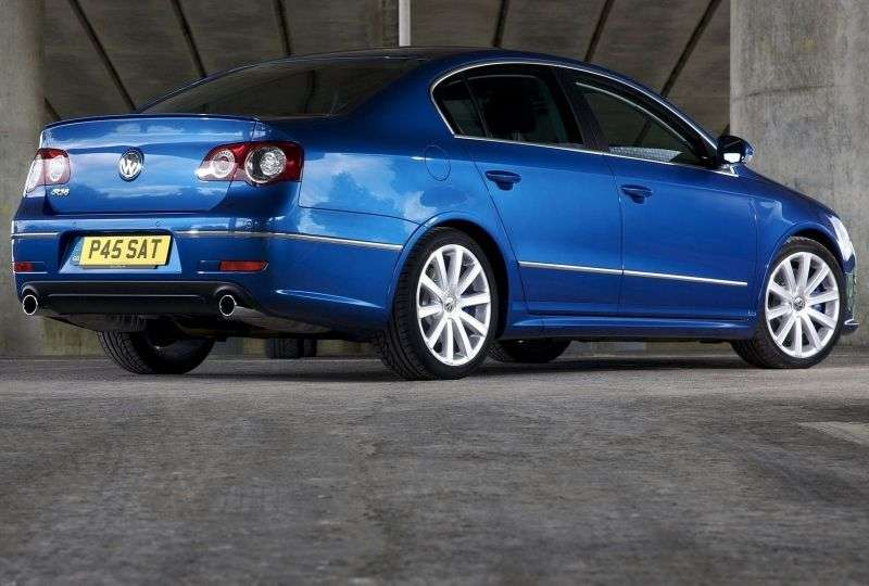 Volkswagen Passat B6R36 4 door sedan. 3.6 4motion DSG (2008–2010)