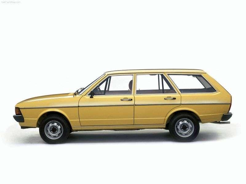 Volkswagen Passat B1 [restyling] wagon 1.5 D MT (1978–1981)