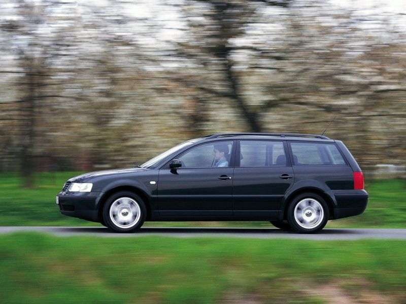 Volkswagen Passat B5Universal 2.5 TDI 4Motion AT (1997–2000)