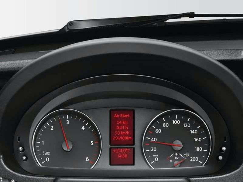 Volkswagen Crafter 1st generation [restyling] 2 bit chassis 2.0 BiTDI MT L2 30mwb Basic (2011 – present)