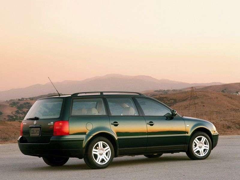 Volkswagen Passat B5Universal 2.0 4Motion MT (1999–2000)