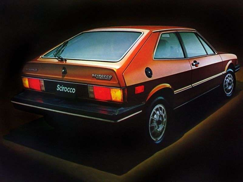 Volkswagen Scirocco 1st generation [restyling] coupe 3 bits. 1.1 MT (1977–1981)