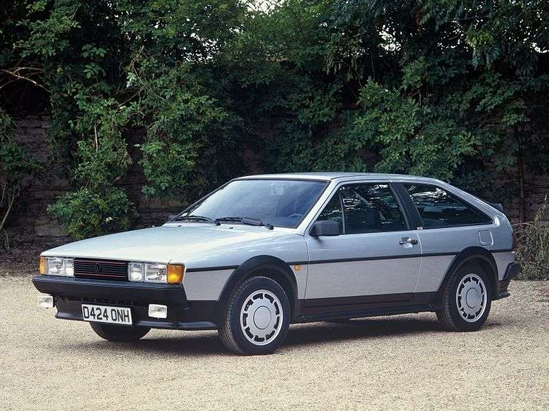 Volkswagen Scirocco 2nd generation coupe 1.5 MT (1981–1983)