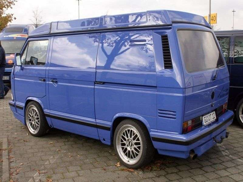 Volkswagen Transporter T3 [restyling] 2.1 MT Syncro (1985–1992)