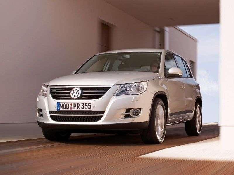 Volkswagen Tiguan 1st generation crossover 2.0 TSI 4Motion Euro4 AT (2007–2010)
