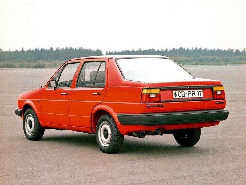 Volkswagen Jetta 4 drzwiowy sedan drugiej generacji 1,6 MT (1984 1987)