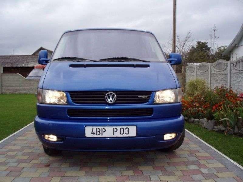 Volkswagen Transporter T4 [restyling] 2.5 TDI 7DZ L MT (1998–2003)