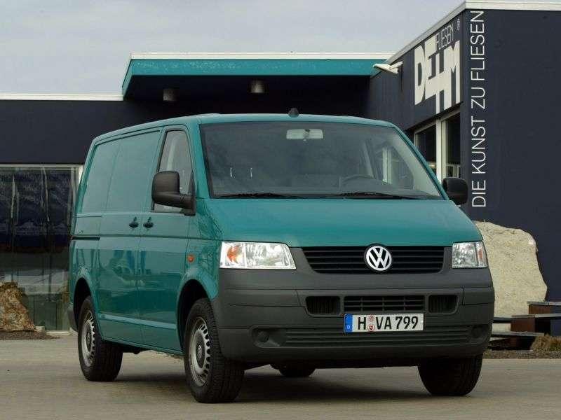 Volkswagen Transporter T5Kasten 4 door van. 2.5 TDI Kasten MT (2003–2008)