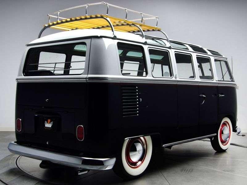 Volkswagen Transporter T1 [restyling] Samba minibus 3 dv. 1.5 MT (1963–1967)