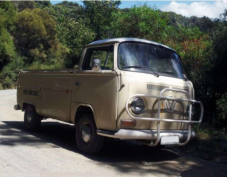 Volkswagen Transporter T2 [restyling] Single Cab pickup 2 dv. 1.8 MT (1975–1979)