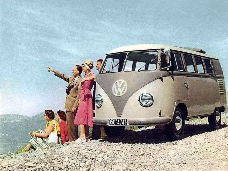Volkswagen Transporter T1Kombi minivan 5 dv. 1.2 MT (1950–1967)