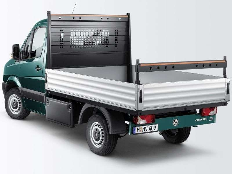 Volkswagen Crafter 1st generation [restyling] board 2 bit. 2.0 BiTDI MT L1 30swb Basic (2011 – current century)