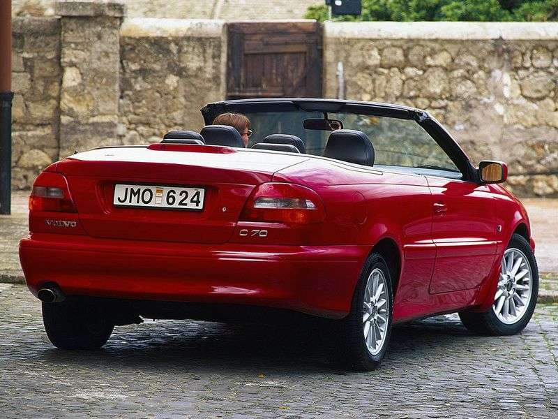 Volvo C70 1st generation Convertible 2.3 T5 MT (1999–2005)