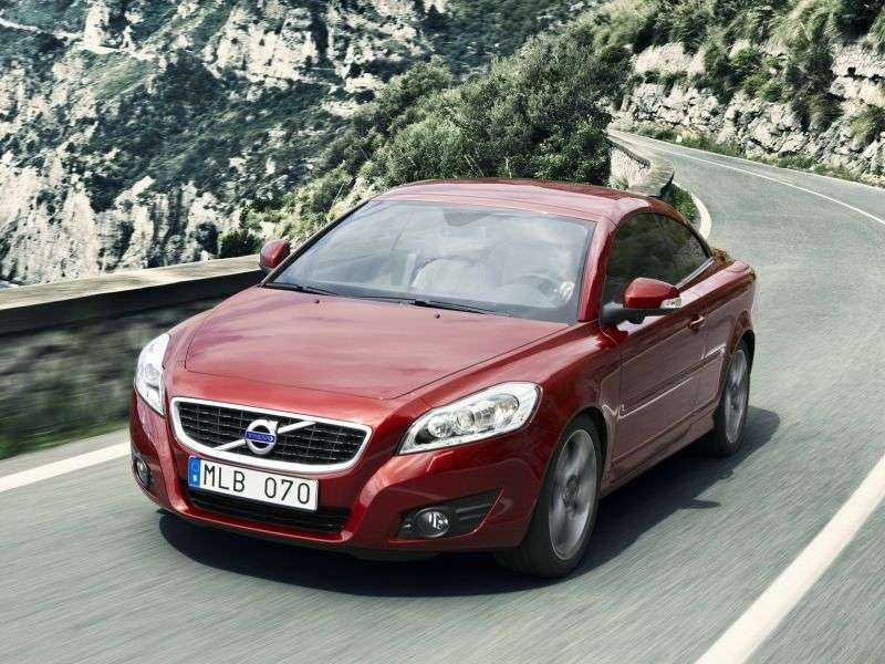 Volvo C70 2nd generation [restyling] 2.5 T5 Geartronic DSG Convertible Summum (2012) (2009–2013)