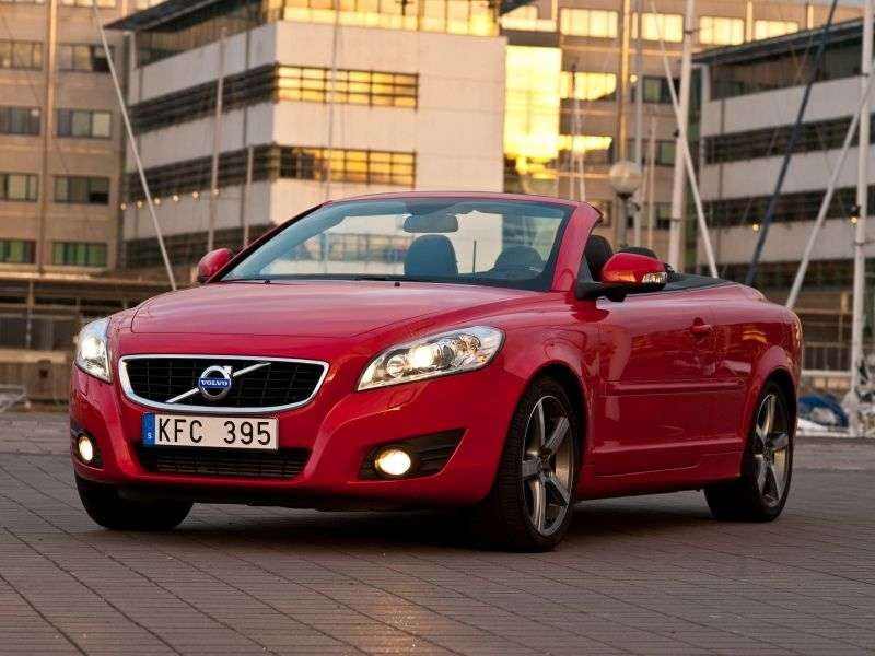 Volvo C70 2nd generation [restyling] 2.5 T5 Geartronic DSG Inscription (2013) (2009–2013) convertible