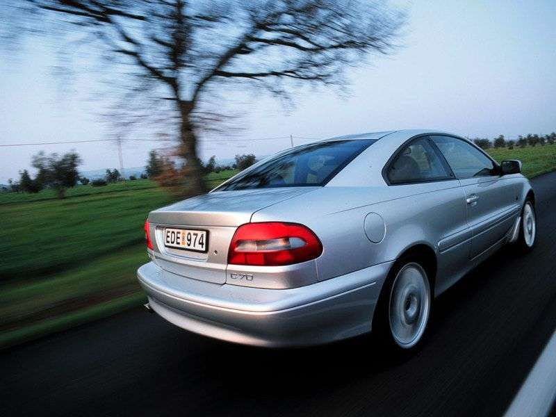 Volvo C70 1st generation coupe 2.3 T5 AT (1998–2002)