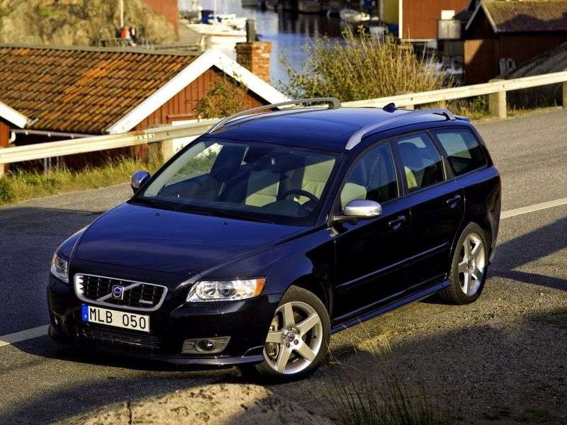 Volvo V50 1st generation wagon 2.0 Powershift DSG Kinetic (2012) (2003 – current century)