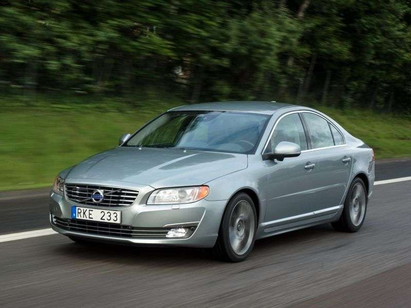 Volvo S80 2nd generation [2nd restyling] 2.4 D5 Geartronic sedan (2013 – v.)