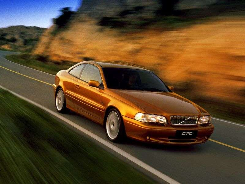 Volvo C70 1st generation coupe 2.4 T MT (1997–2001)