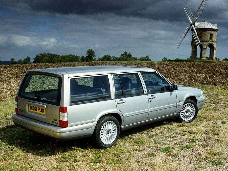 Volvo 960 1st generation wagon 2.5 MT (1990–1995)