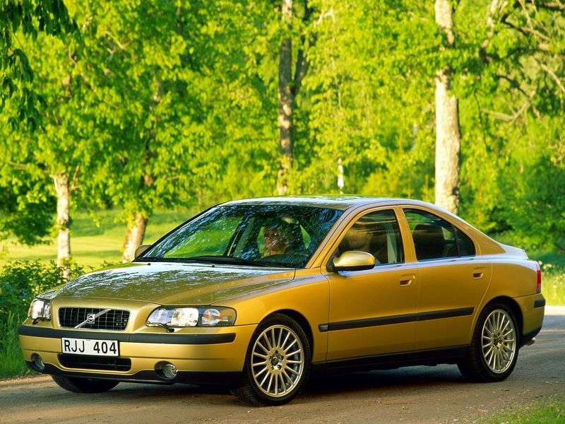Volvo S60 1st generation 2.4 D MT sedan (2000–2004)