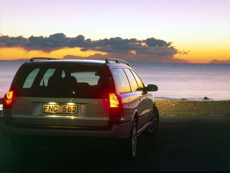 Volvo V70 2nd generation wagon 2.5 T AT (2000–2007)