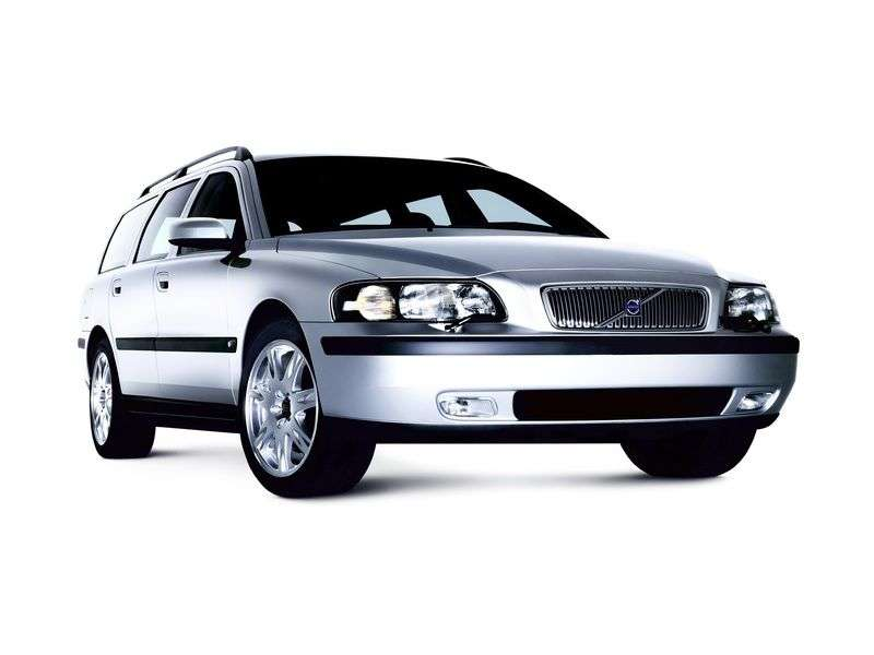 Volvo V70 2nd generation wagon 2.5 T MT 4WD (2000–2007)