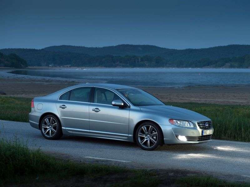 Volvo S80 2nd generation [2nd restyling] sedan 1.6 T4 Powershift (2013 – v.)