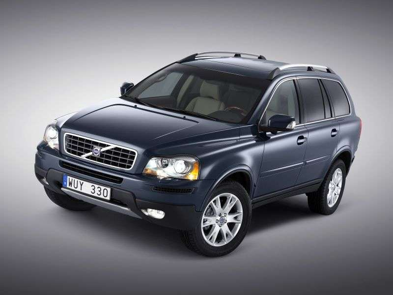 Volvo XC90 1st generation [restyled] crossover 3.2 Geartronic AWD (5 seats) R Design (2012) (2006–2012)