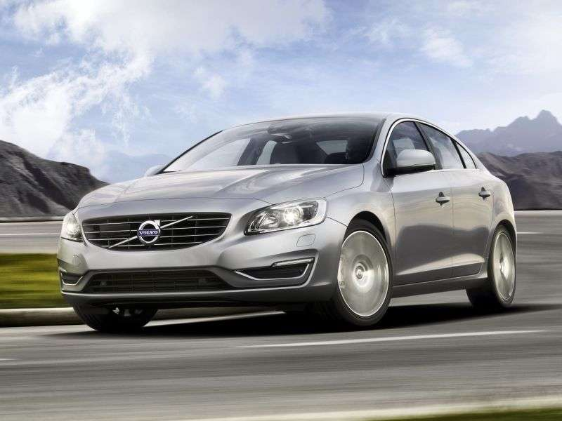 Volvo S60 2nd generation [restyling] 1.6 D2 MT sedan (2013 – n.)