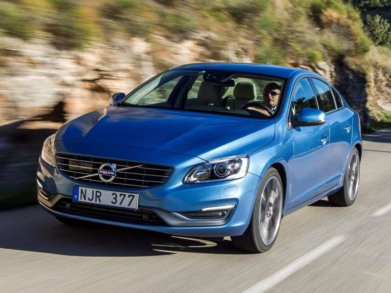 Volvo S60 2nd generation [restyled] sedan 3.0 T6 Powershift AWD Summum (2014) (2013 – n.)