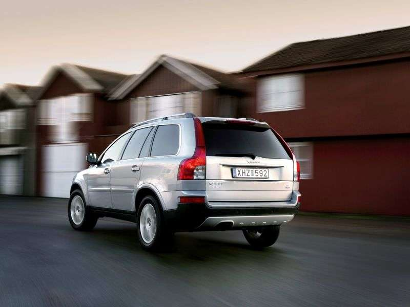 Volvo XC90 1st generation [restyling] 2.4 D5 Geartronic Turbo AWD crossover (5 seats) Basic (2013) (2012 – c.)