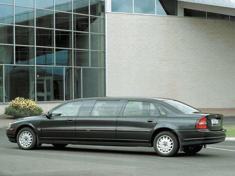 Limuzyna Volvo S80 1.generacji 2.4 MT (2002 2006)