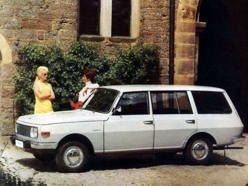 Wartburg 353 1st generation Tourist wagon 1.0 MT (1968–1984)