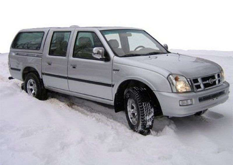 Xin Kai PICKUP X3 1st generation pickup 2.2 MT (2003 – n.)