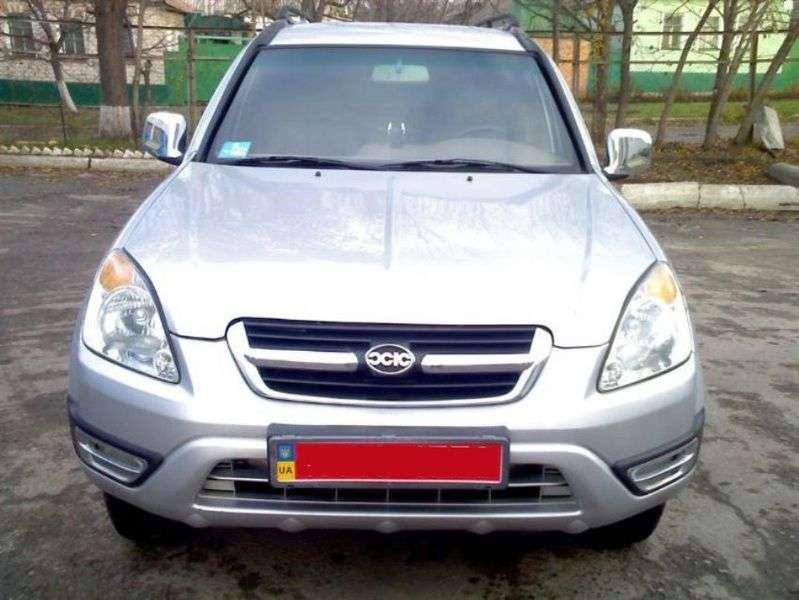Xin Kai SR V X3 1st generation SUV 2.8 D MT (2003 – N)