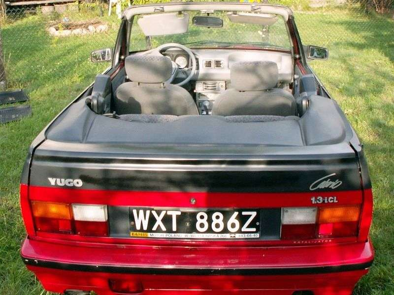 Zastava Yugo Koral 1st generation 1.3i MT convertible (2002 – n.)